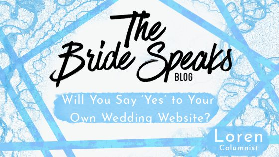 Will You Say Yes to Your Own Wedding Website